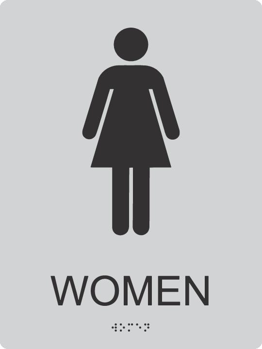 Ada Women Bathroom Signs Ada Fabrication Shop