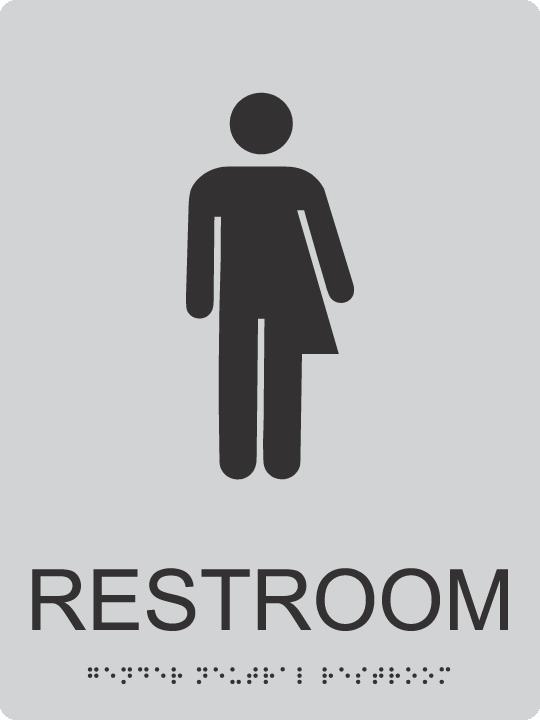 Ada Unisex Bathroom Sign Ada Fabrication Shop
